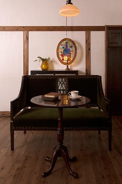 アンティークの部屋インテリア実例 アンティーク家具のラフジュ工房