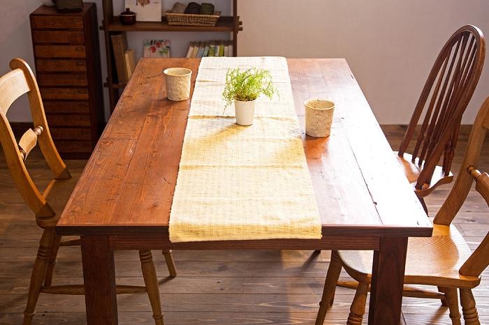 古材 ダイニングテーブル