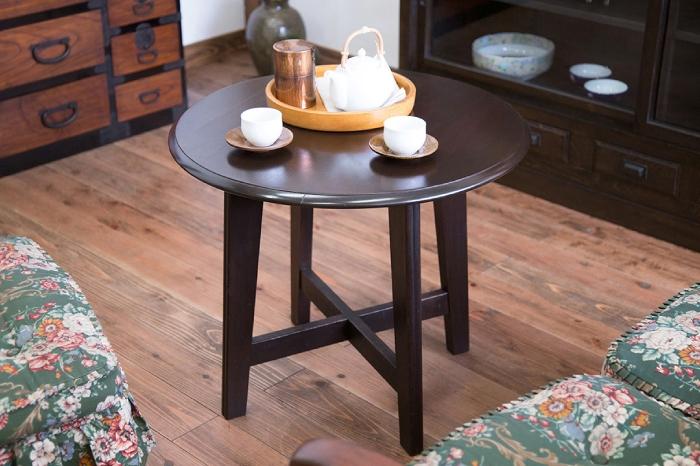丸テーブル カフェテーブル センターテーブル アンティーク