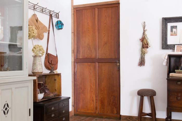 アンティークの木製扉 アンティークドア