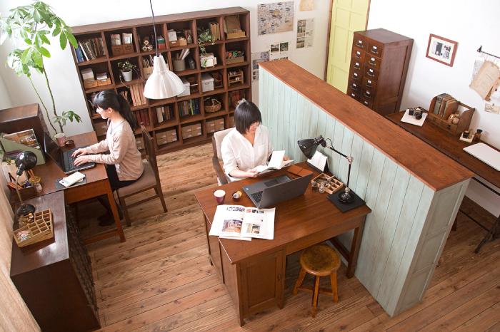 アンティーク オフィス家具 和製アンティーク レトロ
