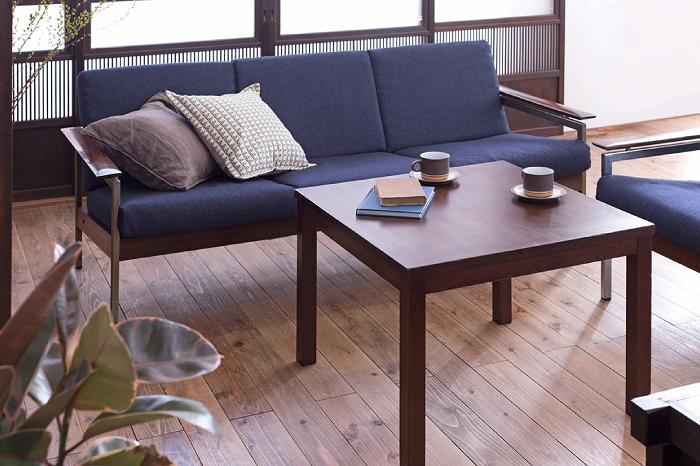 スタイリッシュなリビング 北欧家具 和家具