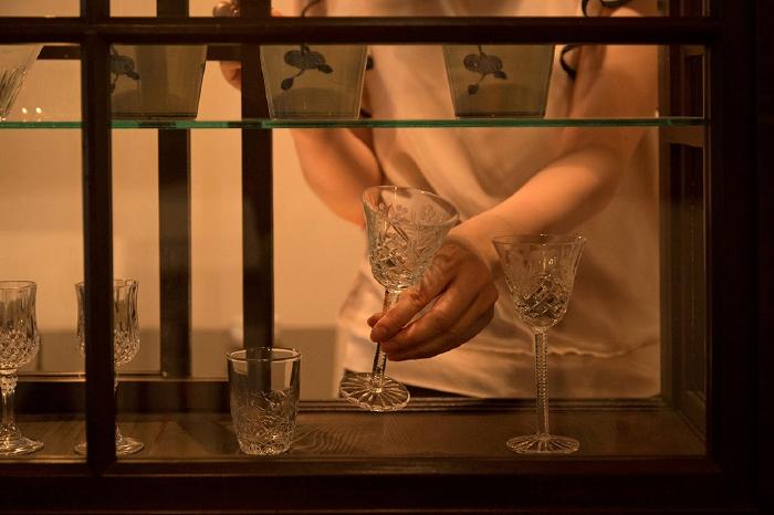 ガラスケース グラス