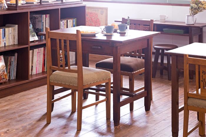 平机 2人掛けテーブル カフェ