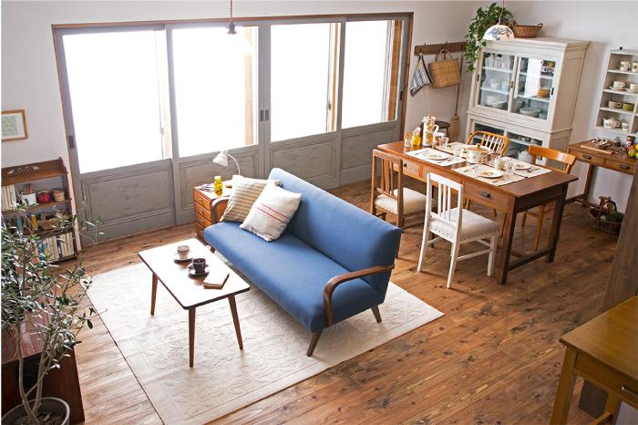 アンティーク家具 リビングダイニング インテリア