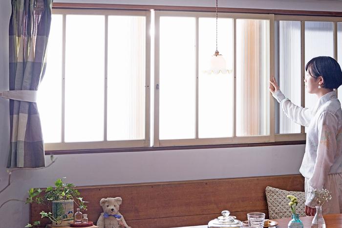 ペイント建具 窓 レトロ