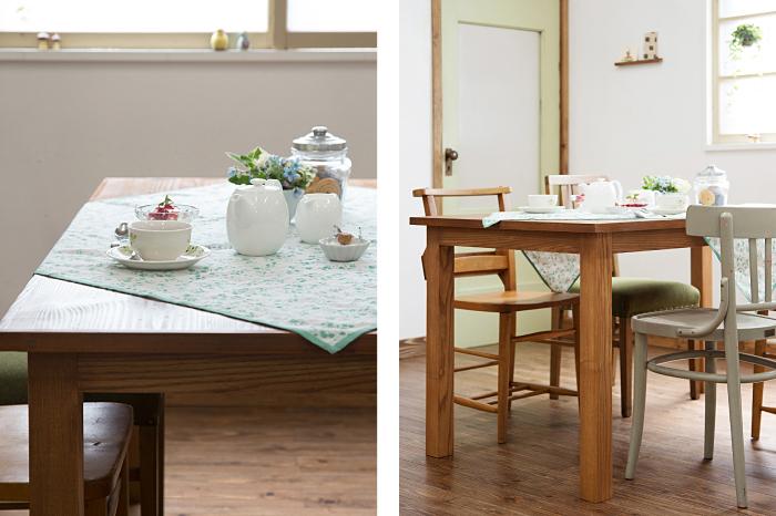 ダイニングテーブル アンティーク 木味