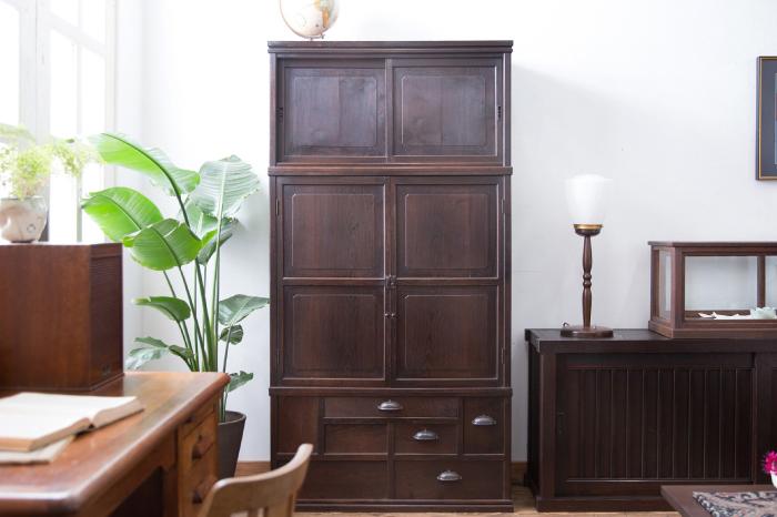 三段重ね箪笥 和家具
