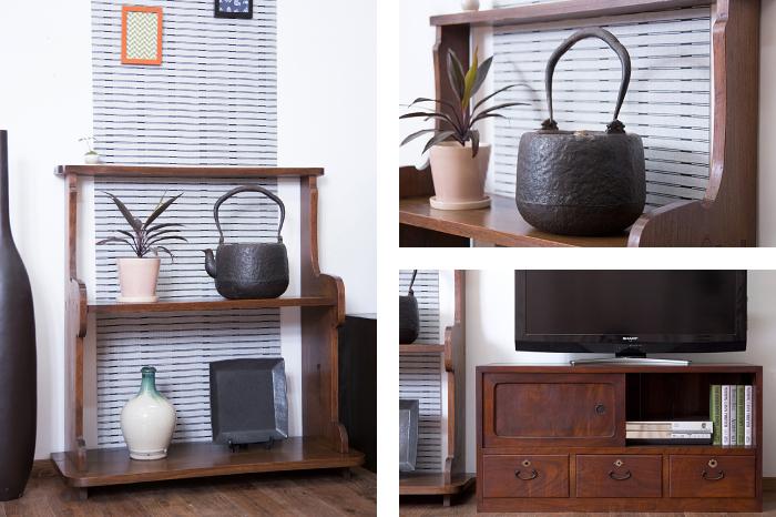 飾り棚 和家具