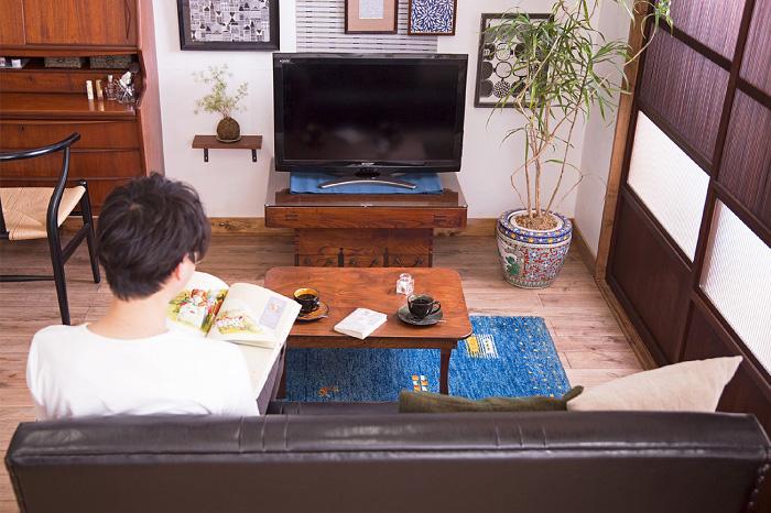 リビング 和製アンティーク家具 インテリア
