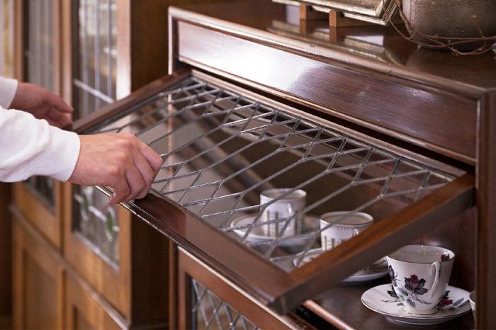 ブックケース 食器収納 コーディネート