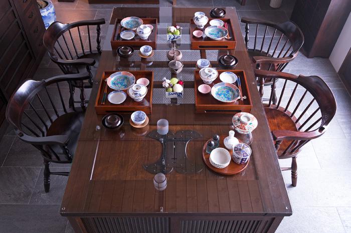 アンティーク 蔵戸 天板 テーブル