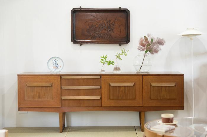 北欧ビンテージ家具 サイドボード 和室