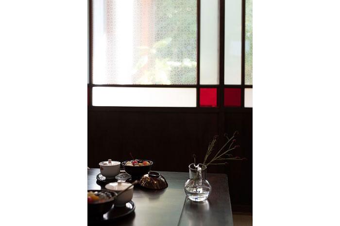 ガラス戸 伝統紋様 アンティーク建具