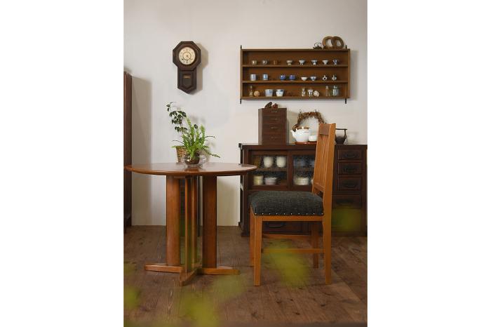 ラウンドテーブル 和製アンティーク レトロ