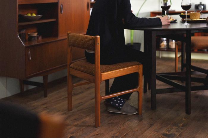 北欧ビンテージ 木製チェア
