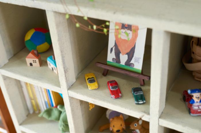 おもちゃ 収納 棚