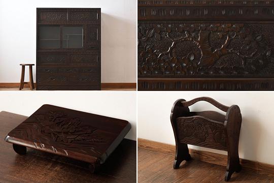 軽井沢彫家具