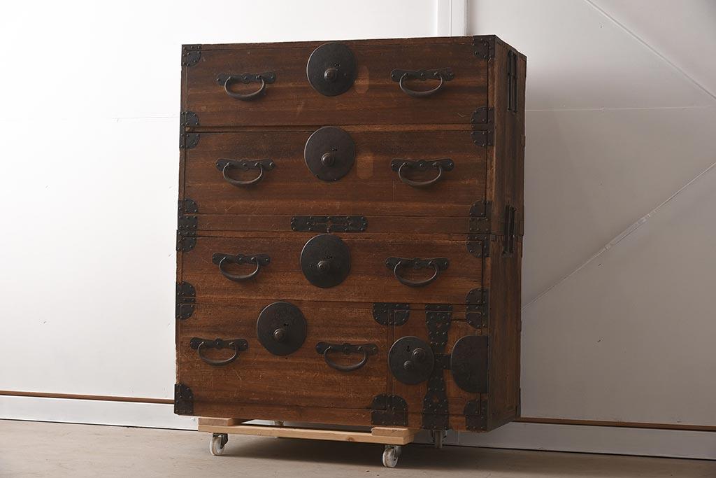時代箪笥とは?知っておきたいアンティーク和箪笥の基礎知識