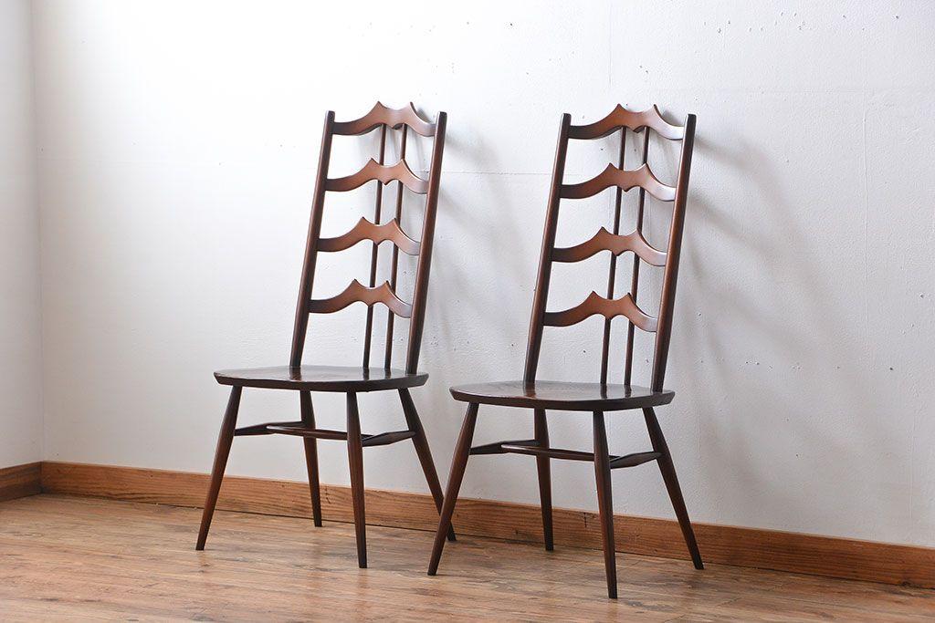 カフェ風チェアにぴったり!6つのおしゃれな木製アンティークチェア
