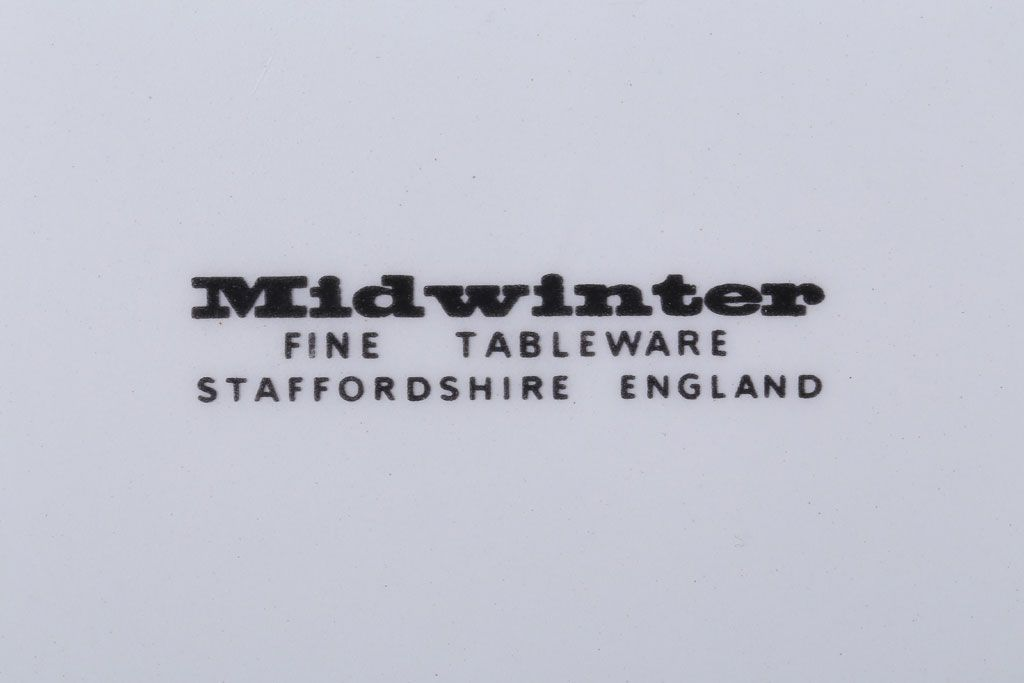 MIDWINTER(ミッドウィンター) Country side(カントリーサイド)シリーズ 平皿4枚セット(洋食器)