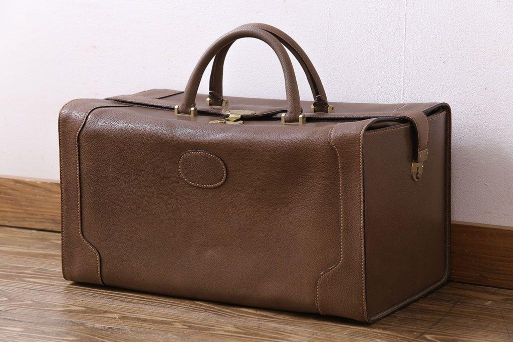 cheaper f0521 4f365 アンティーク雑貨 オールドグッチ(GUCCI) 箱型のデザインがおしゃれなバッグ(鞄)