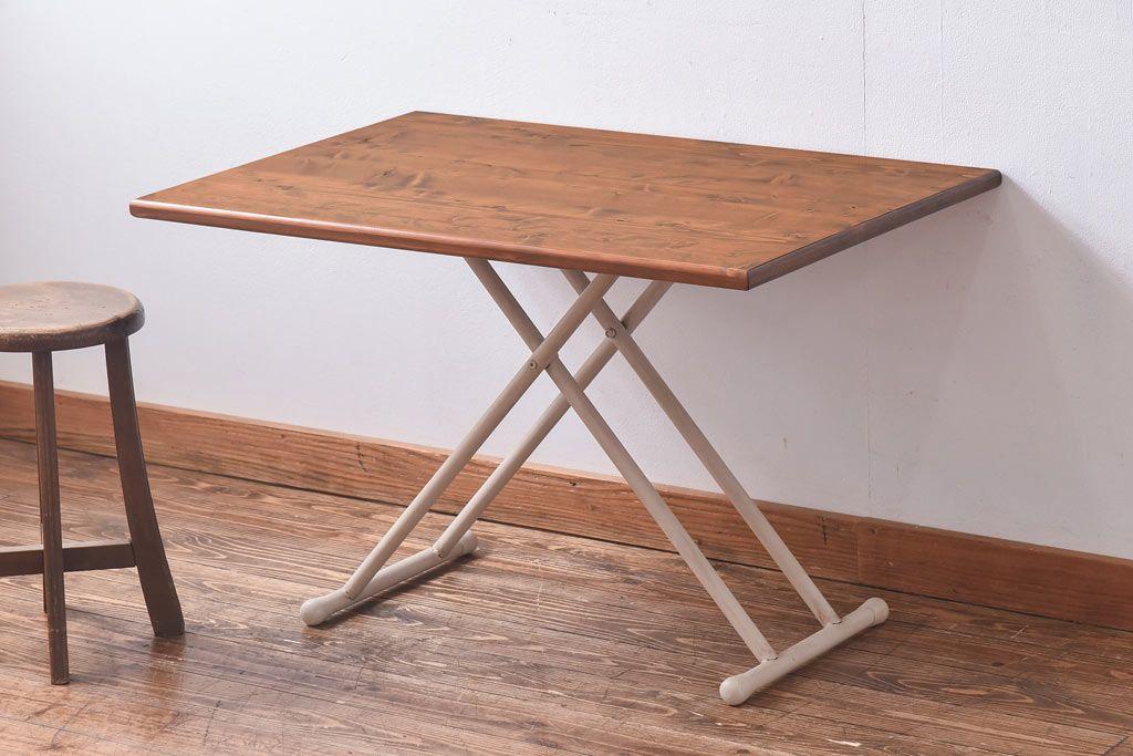 ナチュラルインテリアで使いたいテーブルの選び方