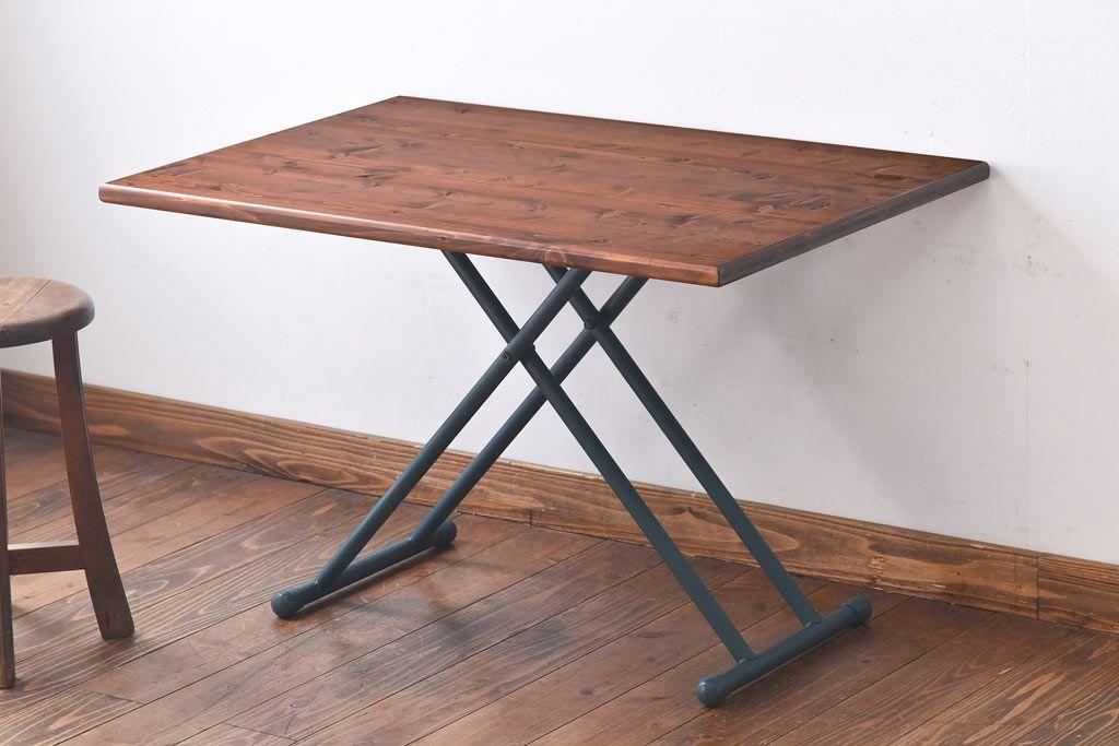 ヴィンテージなインダストリアル家具でかなえるカフェ風お家インテリア