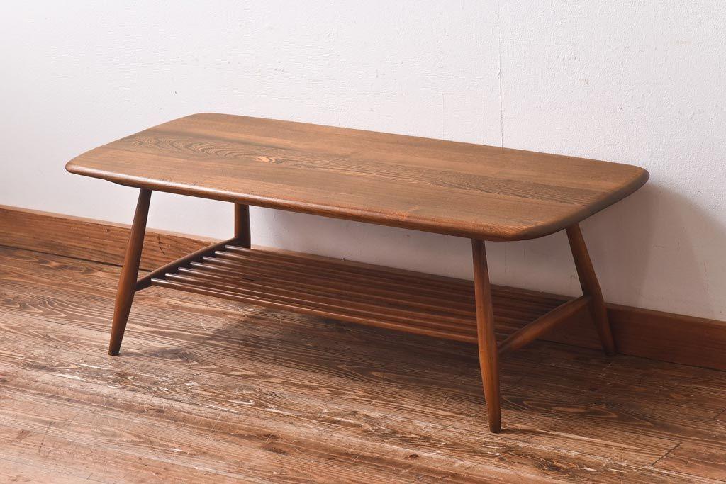 アンティークコーヒーテーブルとソファのコーディネート実例8選