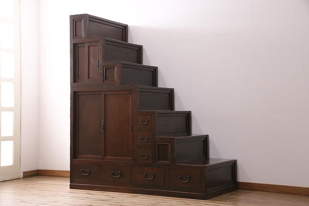 町家に根付いた和家具。アンティーク階段箪笥の魅力と現代の使い方