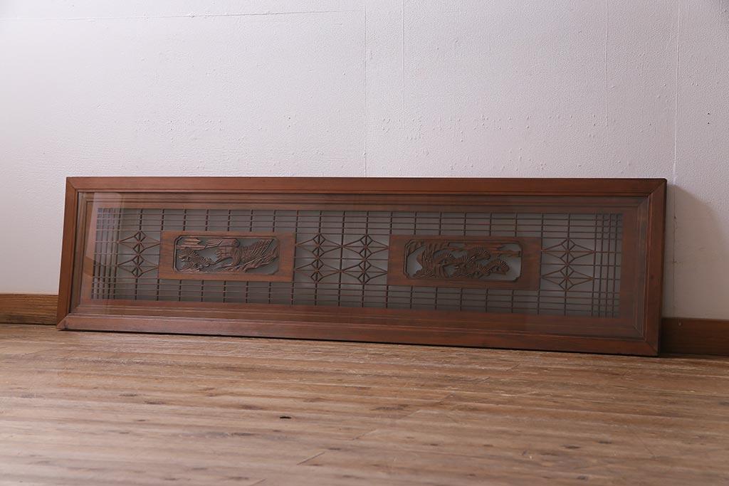 和の装飾にも。豊富なデザインが魅力のアンティーク欄間の種類