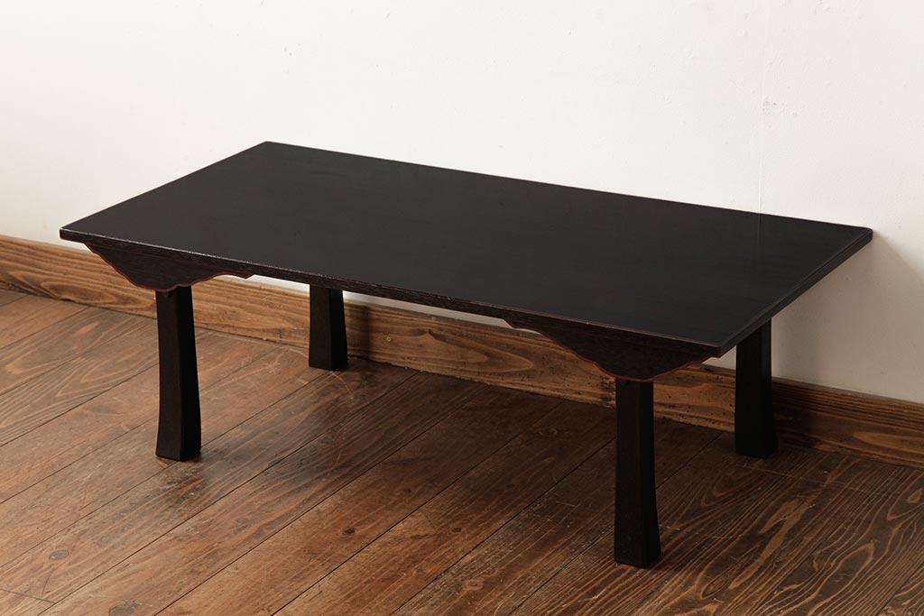 床座生活におすすめの定番家具!ナチュラルに使える日本の座卓・机