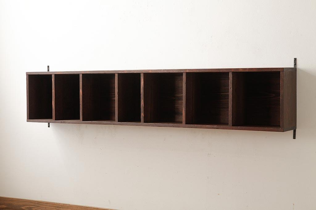 寂しい壁は棚で変身!アンティークで差をつけるウォールシェルフ