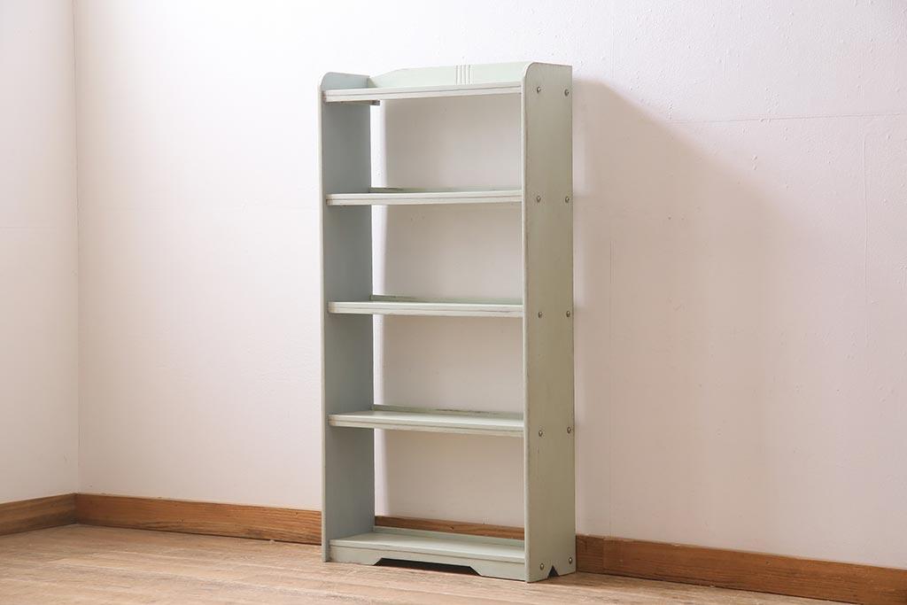 子供も本が選びやすい!目で見えるおしゃれなアンティーク本棚