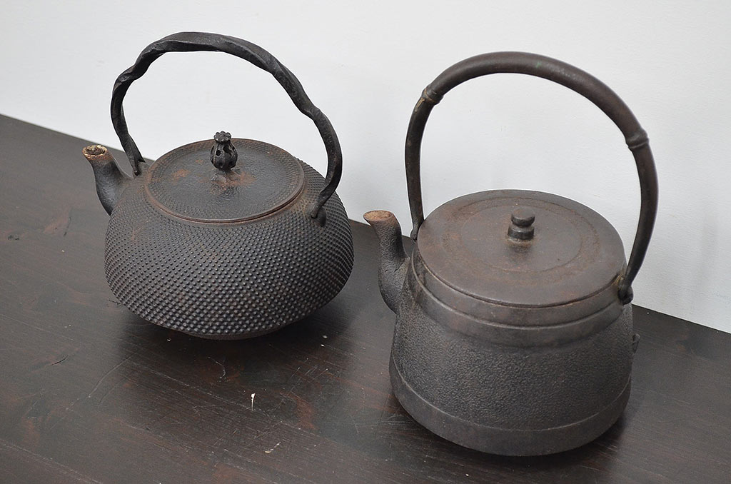 使って楽しむ、鉄瓶。錆び・重さのデメリットをカバーする職人技